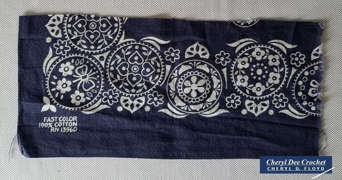 005.Face Mack in a Hurry crochet pattern by Cheryl Dee Floyd