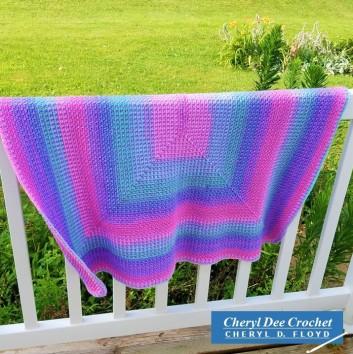 Islas Blanket crochet pattern by Cheryl Dee Floyd 1